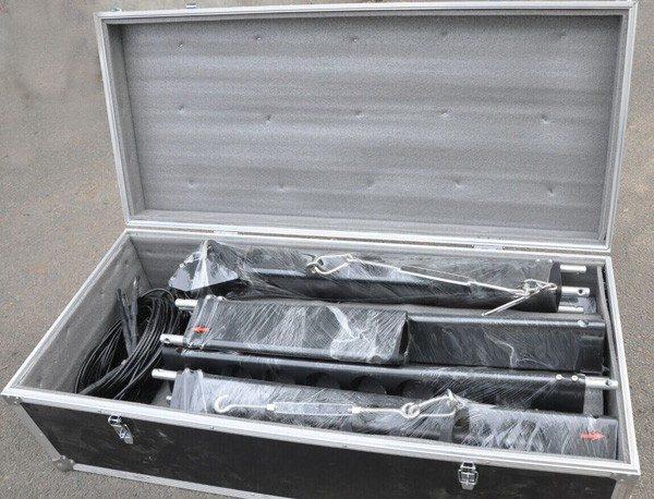 arm body aluminum box
