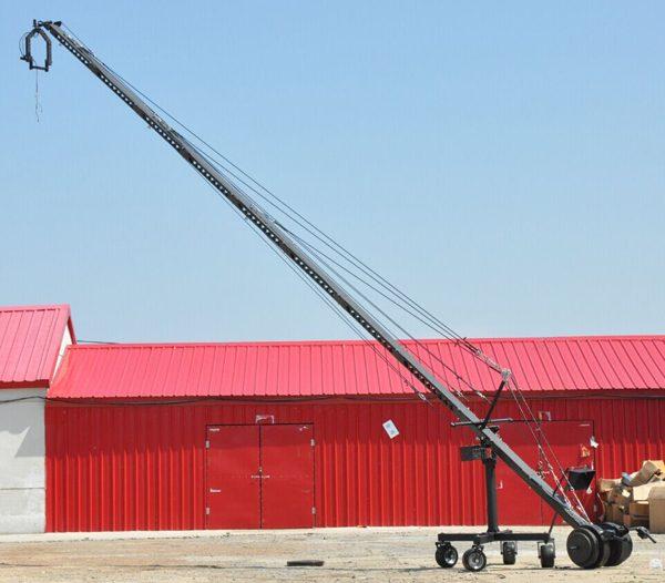 12m camera jib crane