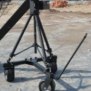 3 wheels adjustable tripod