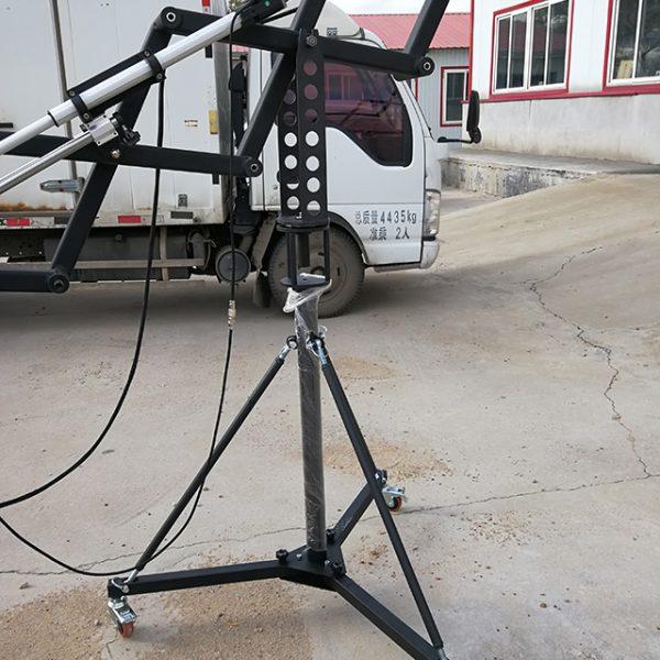 scissors camera crane