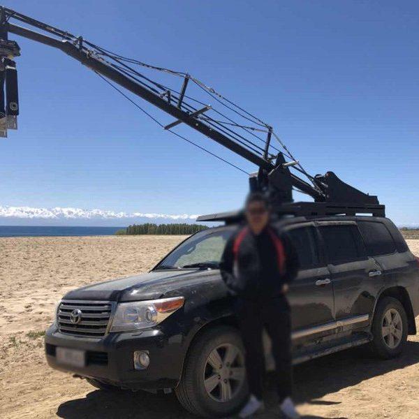 Higher Standard Car Mounted Camera Crane