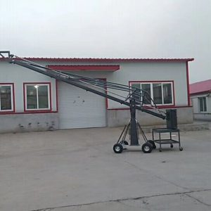 Camera Crane With Seats On Top