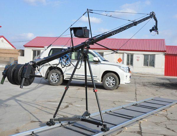 DV camera crane jib