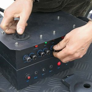 Control Box With Joystick