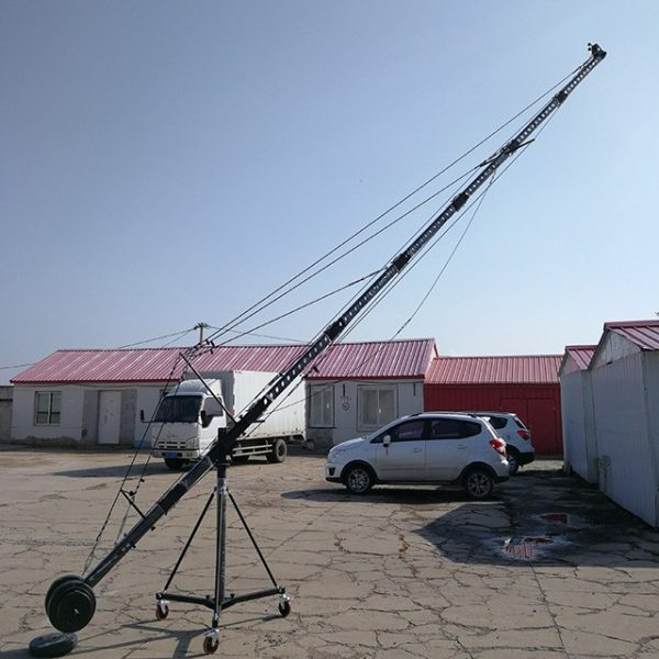 8 Meters Camera Crane With Octagon Arm