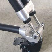 adjustable tripod wheel