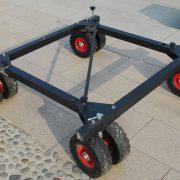 8 wheels dolly