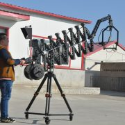 telescopic jib crane