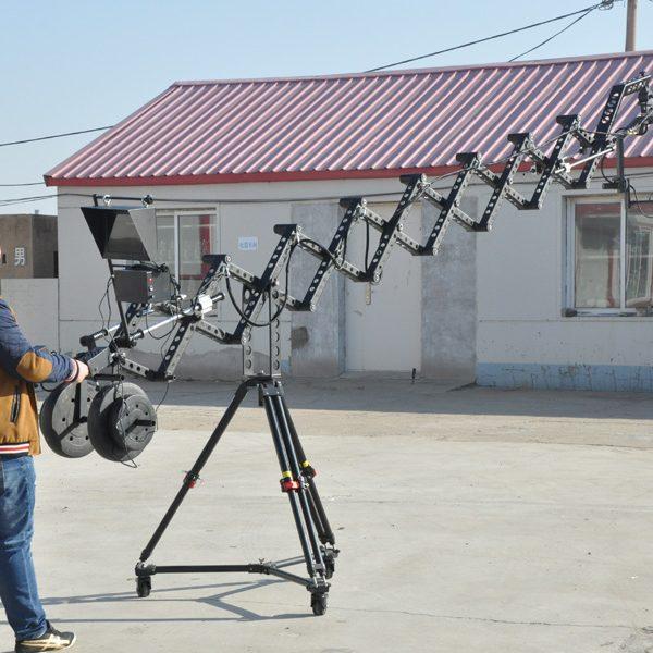 folding jib crane