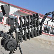 telescopic jib crane