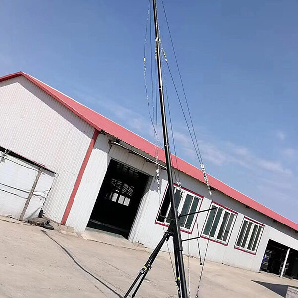 8m telescopic jib